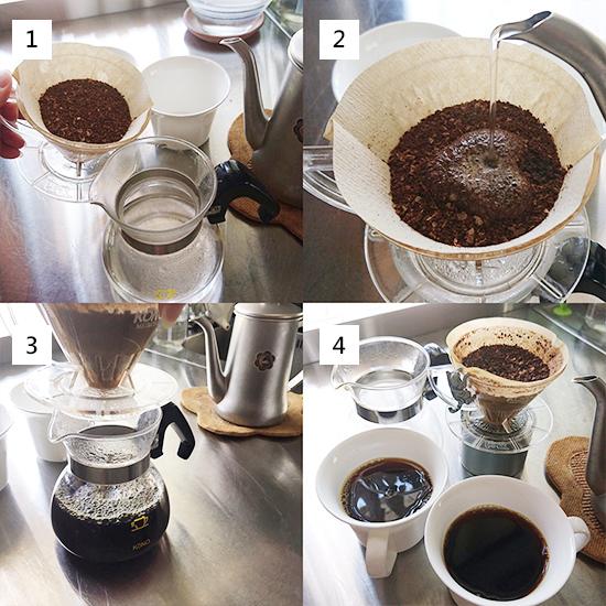 手沖咖啡四格步驟圖final